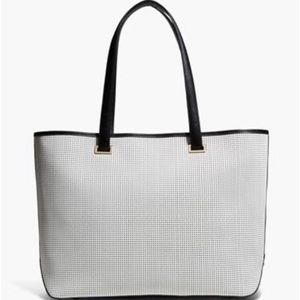 Lo and Sons Seville Leather Laptop Tote